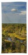 Lahemaa Panorama From Above Beach Towel