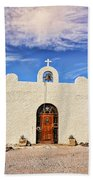 Lajitas Chapel 1 Beach Towel