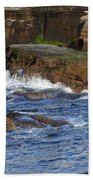 Lajolla Rocks Beach Towel