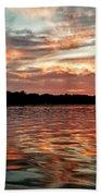 Lake Beulah Beach Towel