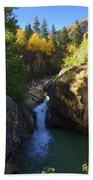 Lake Creek Falls Beach Towel