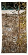 Lake Edge Beach Towel