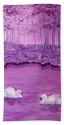 Lake Fantasy Beach Towel