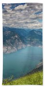 Lake Garda Beach Towel