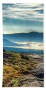 Lake George From Cat Mountain 1 Beach Towel