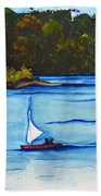 Lake Glenville  Sold Beach Towel