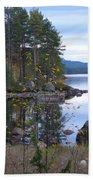 Lake Gustav Adolf Sweden Beach Towel