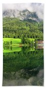 Lake Hintersee Beach Towel