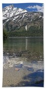 Lake Jenny Grand Tetons Beach Towel