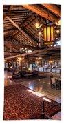 Lake Lodge Interior Yellowstone Beach Towel