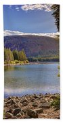 Lake Mary Forest Star Beach Towel