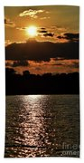 Lake Murray Golden Hour Beach Towel