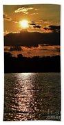 Lake Murray Golden Hour Beach Sheet