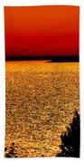 Lake Nipissing Beach Towel
