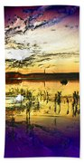 Lake Of The Sleeping Souls Beach Towel