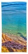 Lake Ontario At Chimney Bluff Beach Towel