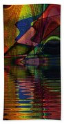 Lake Opalescence Beach Towel