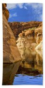 Lake Powell Stillness Beach Towel