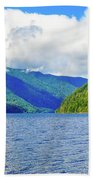 Lake Quinault Washington Beach Towel