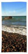 Lake Superior At Whitefish Point Beach Towel