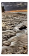 Lake Superior Northern Michigan  Beach Towel