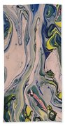 Lake Swirl 3 Beach Towel