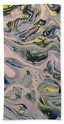 Lake Swirl 4 Beach Towel