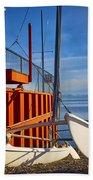 Lake Tahoe Low Water Beach Towel