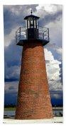 Lake Toho Lighthouse 002  Beach Towel