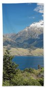 Lake Wanaka New Zealand Iv Beach Towel