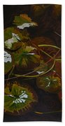 Lake Washington Lily Pad 16 Beach Towel