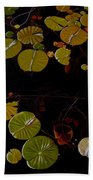 Lake Washington Lilypad 8 Beach Towel