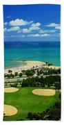 Lakefront Beach Park Baseball Fields Beach Towel