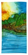 Lakeshore Beach Towel