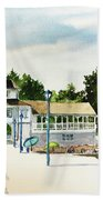 Lakeside Dock And Pavilion Beach Towel