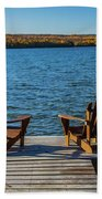 Lakeside Seating For Two Beach Towel