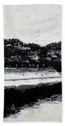 Lal Bagh Lake 4 Beach Sheet by Usha Shantharam