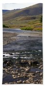 Lamar Valley 3 Beach Towel