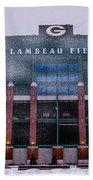 Lambeau  Beach Sheet