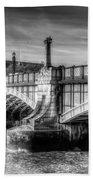 Lambeth Bridge London Beach Towel