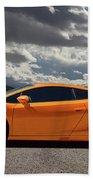 Lamborghini Exotic Car Beach Towel