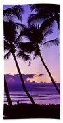Lanai Sunset Beach Towel
