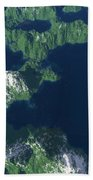 Land Of A Thousand Lakes Beach Towel