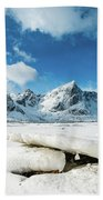 Land Of Ice And Snow Beach Towel