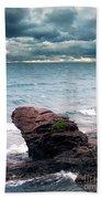 Land Water Sky Beach Towel