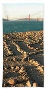 Lands End Labyrinth Beach Towel