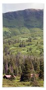Landscape Alaska  Beach Towel