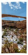 Landscape Arch - Arches National Park Moab Utah Beach Towel