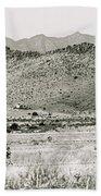 Landscape Galisteo Nm I10v Beach Towel