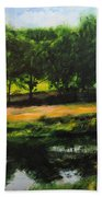 Landscape In North Wales Beach Towel